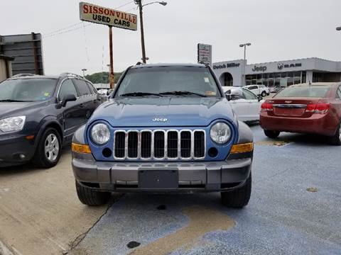 2006 Jeep Liberty for sale at Sissonville Used Cars in Charleston WV