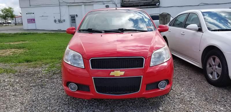 2011 Chevrolet Aveo for sale at Sissonville Used Cars in Charleston WV