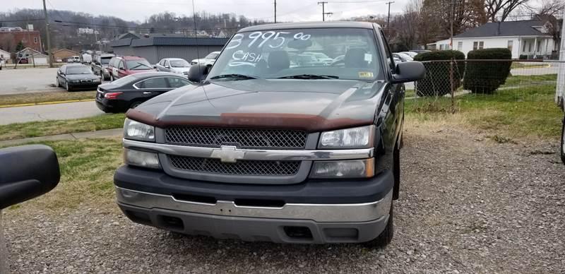 Used Cars Charleston Wv >> 2003 Chevrolet Silverado 1500 2dr Standard Cab Rwd LB In