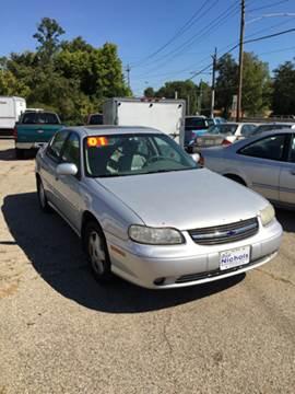 2001 Chevrolet Malibu for sale in Reading, OH