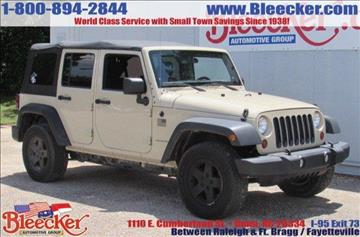 2011 Jeep Wrangler Unlimited for sale in Dunn, NC