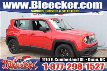 2016 Jeep Renegade for sale in Dunn, NC