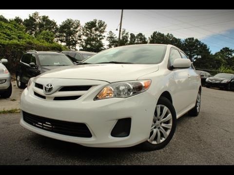 2012 Toyota Corolla for sale in Atlanta, GA