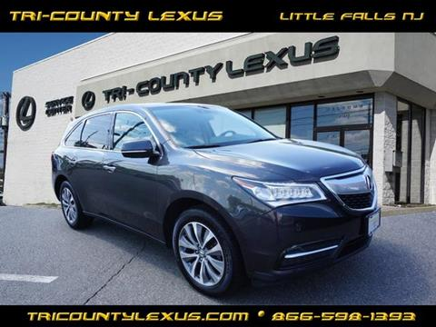 2015 Acura MDX for sale in Little Falls, NJ