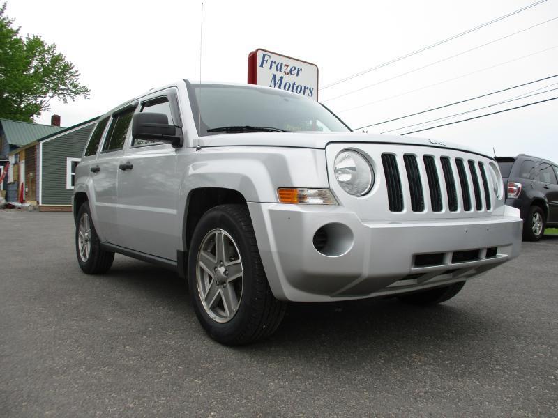 2008 Jeep Patriot for sale at Frazer Motors in Canton NY