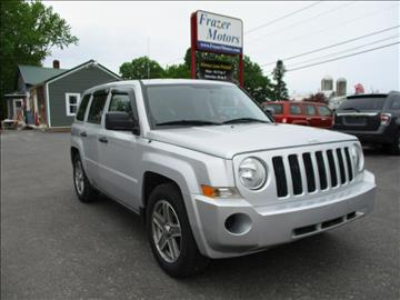 2008 Jeep Patriot for sale at Frazer Motors in Canton NY