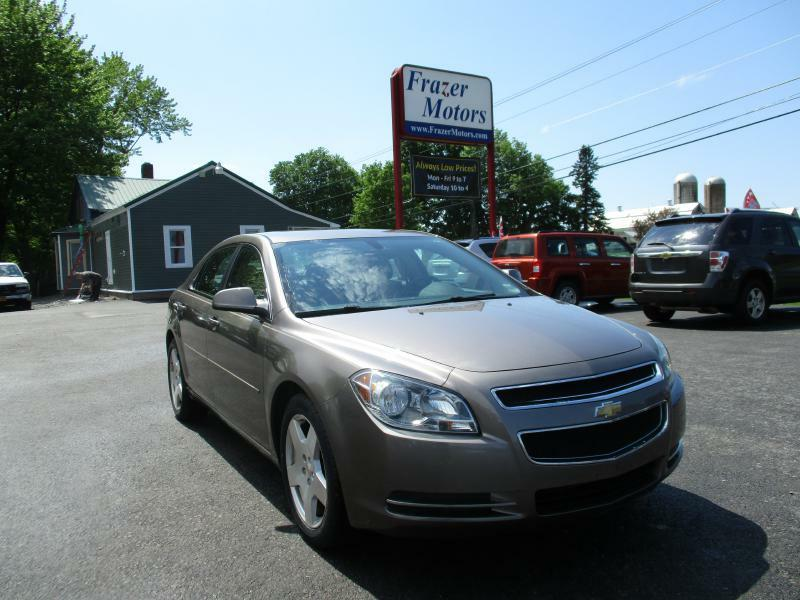 2010 Chevrolet Malibu for sale at Frazer Motors in Canton NY