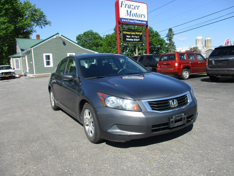 2008 Honda Accord for sale at Frazer Motors in Canton NY