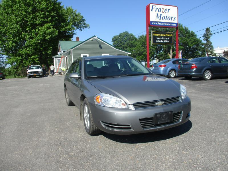 2008 Chevrolet Impala for sale at Frazer Motors in Canton NY