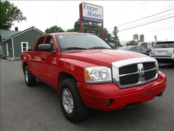 2006 Dodge Dakota for sale at Frazer Motors in Canton NY