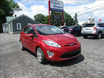 2012 Ford Fiesta for sale at Frazer Motors in Canton NY