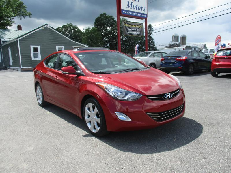 2012 Hyundai Elantra for sale at Frazer Motors in Canton NY