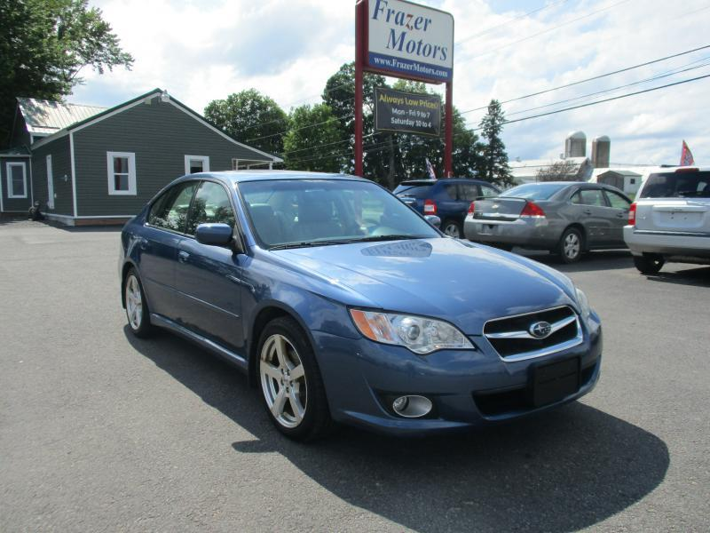 2009 Subaru Legacy for sale at Frazer Motors in Canton NY
