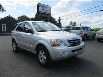 2008 Kia Sorento for sale at Frazer Motors in Canton NY