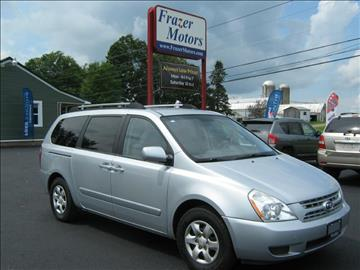 2008 Kia Sedona for sale at Frazer Motors in Canton NY