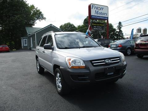 2008 Kia Sportage for sale at Frazer Motors in Canton NY