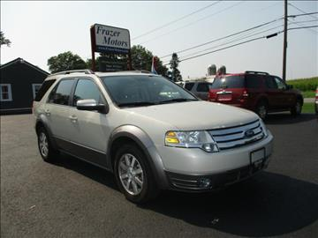 2008 Ford Taurus X for sale at Frazer Motors in Canton NY