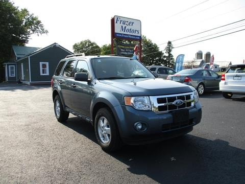 2010 Ford Escape for sale at Frazer Motors in Canton NY