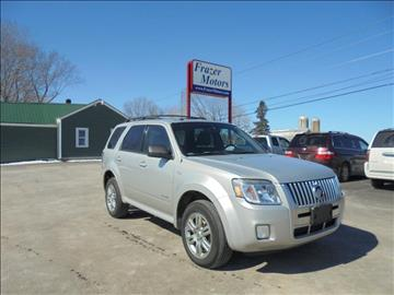 2008 Mercury Mariner for sale at Frazer Motors in Canton NY