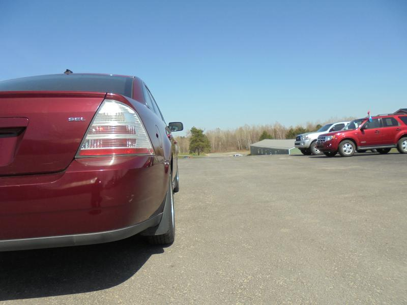 2008 Ford Taurus for sale at Frazer Motors in Canton NY