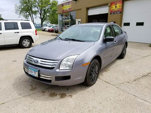 2006 Ford Fusion for sale at El Rancho Auto Sales Display Lot in Marshall MN