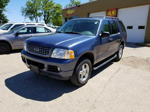 2004 Ford Explorer for sale at El Rancho Auto Sales Display Lot in Marshall MN