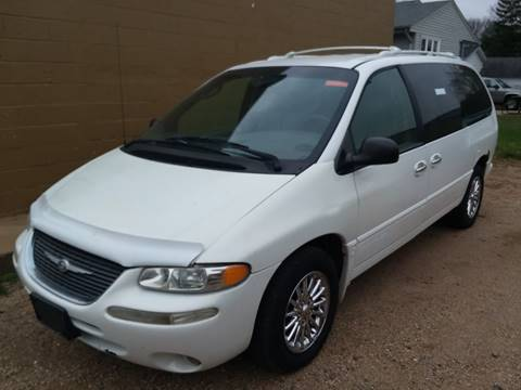 1999 Chrysler Town and Country for sale at El Rancho Auto Sales Display Lot in Marshall MN