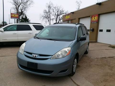 2010 Toyota Sienna for sale at El Rancho Auto Sales Display Lot in Marshall MN
