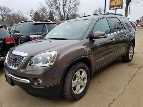 2008 GMC Acadia for sale at El Rancho Auto Sales in Marshall MN