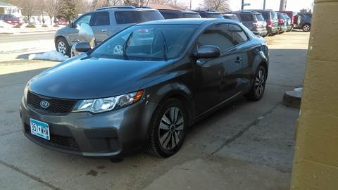 2013 Kia Forte Koup for sale at El Rancho Auto Sales in Marshall MN