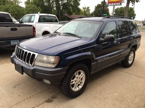 2002 Jeep Grand Cherokee for sale at El Rancho Auto Sales in Marshall MN