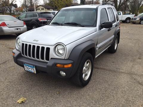 2003 Jeep Liberty for sale at El Rancho Auto Sales in Marshall MN