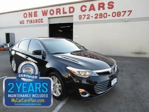 2013 Toyota Avalon for sale in Dallas, TX