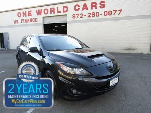 2012 Mazda MAZDASPEED3 for sale in Dallas, TX