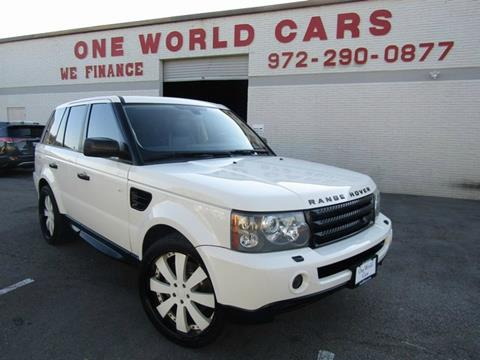 2009 Land Rover Range Rover Sport for sale in Dallas, TX