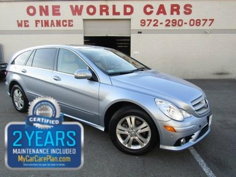 2008 Mercedes Benz R Class For Sale In Dallas, TX