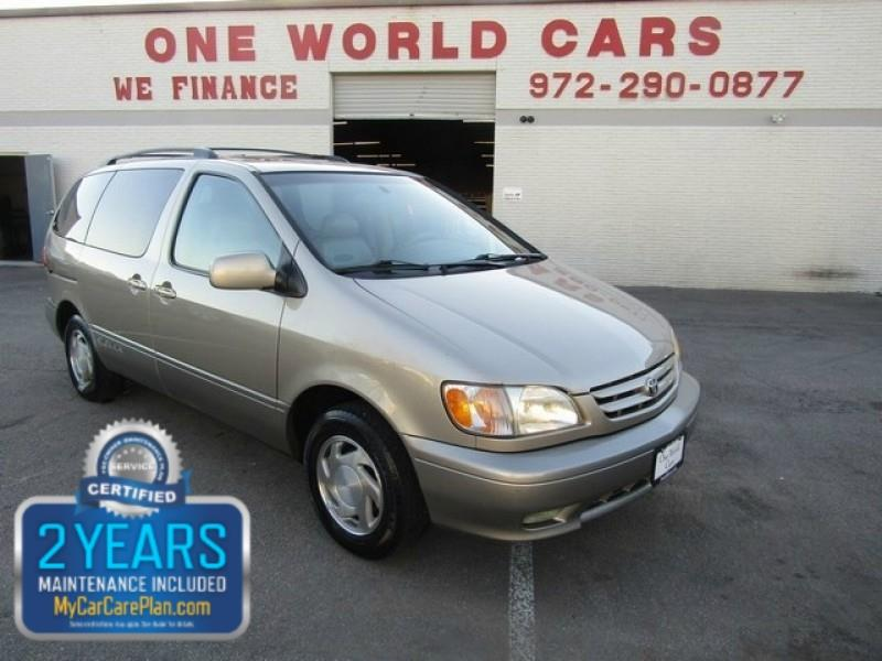 2001 Toyota Sienna 5dr XLE In Dallas TX - One World Cars