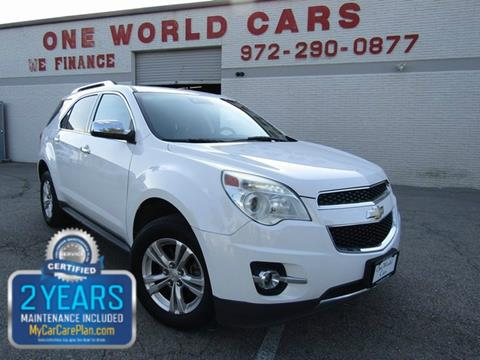 2013 Chevrolet Equinox for sale in Dallas, TX