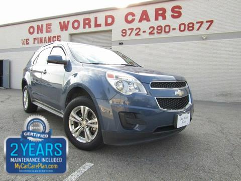 2011 Chevrolet Equinox for sale in Dallas, TX