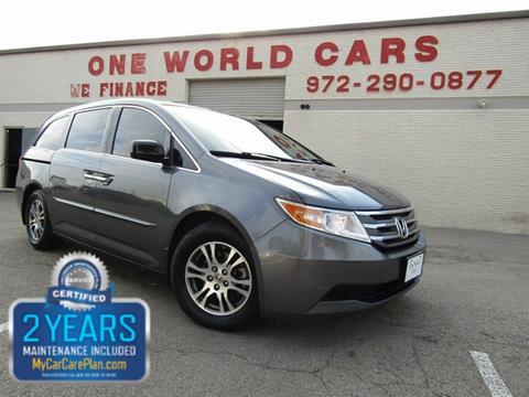 2011 Honda Odyssey for sale in Dallas, TX