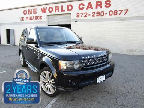 2012 Land Rover Range Rover Sport for sale in Dallas, TX