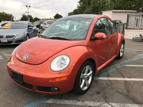 2010 Volkswagen New Beetle for sale at TOP QUALITY AUTO in Rancho Cordova CA