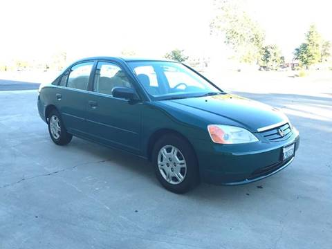 2001 Honda Civic for sale at TOP QUALITY AUTO in Rancho Cordova CA