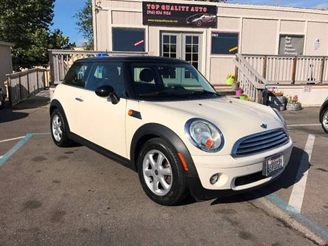 2009 MINI Cooper for sale at TOP QUALITY AUTO in Rancho Cordova CA