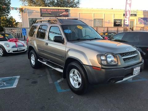 2003 Nissan Xterra for sale at TOP QUALITY AUTO in Rancho Cordova CA