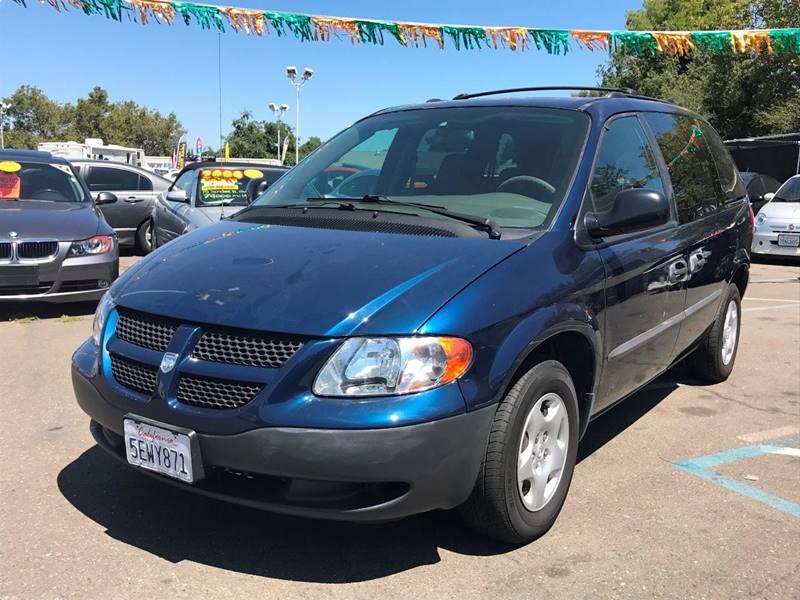 2003 Dodge Caravan for sale at TOP QUALITY AUTO in Rancho Cordova CA