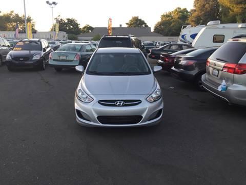 2016 Hyundai Accent for sale at TOP QUALITY AUTO in Rancho Cordova CA
