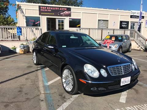 2006 Mercedes-Benz E-Class for sale at TOP QUALITY AUTO in Rancho Cordova CA