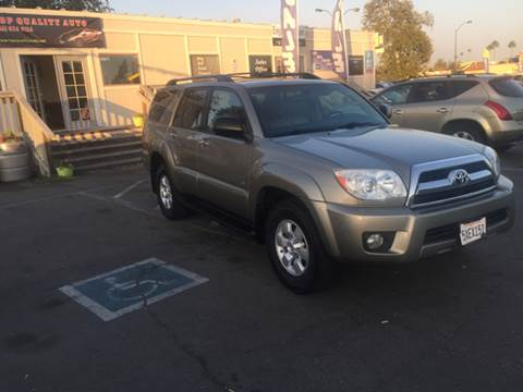 2007 Toyota 4Runner for sale at TOP QUALITY AUTO in Rancho Cordova CA