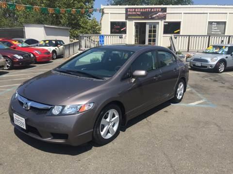 2010 Honda Civic for sale at TOP QUALITY AUTO in Rancho Cordova CA